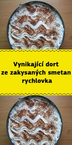 Vynikající dort ze zakysaných smetan – rychlovka Cheesecake, Food And Drink, Recipes, Hair, Cheese Cakes, Recipies, Ripped Recipes, Cheesecakes, Recipe