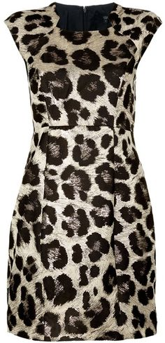 TIBI Animal Print Dress     dressmesweetiedarling