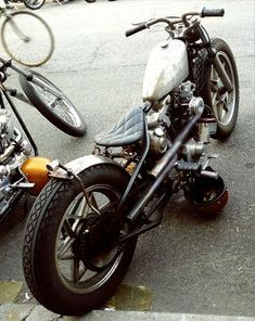 Harley-Davidson custom #bobber | Bobber Inspiration - Bobbers and Custom Motorcycles | the-ghost-darkness August 2014