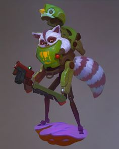Concept Art Stylized Character Design