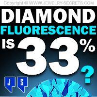 ►► DIAMOND FLUORESCENCE IS 33% ►► Jewelry Secrets