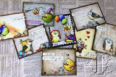 2015  bobbi smith created these colorful cards showcasing her touch of crazy creativity too  http://vintagemusedesigns.blogspot.com/2015/09/crazy-things-for-bird-crazy.html