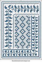 Free Easy Cross, Pattern Maker, PCStitch Charts + Free Historic Old Pattern Books: Sajou No 658