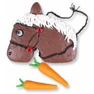 All Maggie wants is a horse cake for her birthday. This one looks like the easiest to attempt.