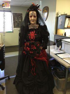 Black widow spider bride