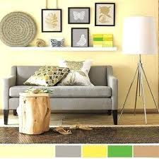 37 + Stylish Yellow Living Room Color Schemes Design Ideas - Home By X Yellow Walls Living Room, Light Yellow Walls, Living Room Color Schemes, Living Room Colors, Living Room Grey, Small Living Rooms, Light Yellow Bedrooms, Gray Walls, Interior Color Schemes