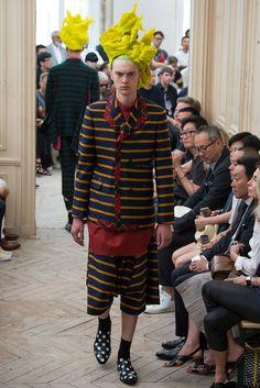 Comme des Garçons Homme Plus Spring 2016 Menswear - Collection - Gallery - Style.com