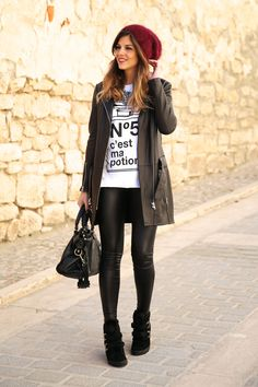 Trendy Taste - Leather Look