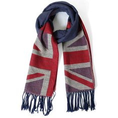 Union Jack Pattern Scarf, $26, now featured on Fab.