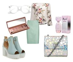 """""""Minty glow"""" by sophie-am on Polyvore featuring Armani Collezioni and Urban Decay"""