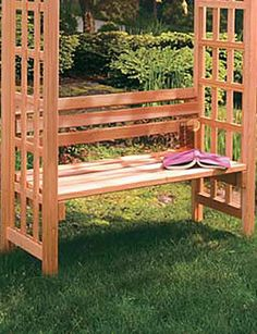 Rose dale seat for the back yard with some wisteria flowers this would be amazing space