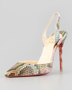 Christian Louboutin on Pinterest | Red Sole, Pumps and Slingback Pump