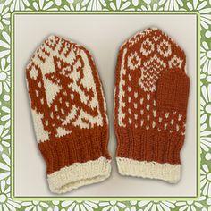 Ravelry: Lille rev pattern by Jorid Linvik - Small fox Knitting Patterns Free, Free Knitting, Knitting Socks, Knit Mittens, Knitted Gloves, Knitting For Kids, Knitting Projects, Scandinavian Pattern, Christmas Knitting