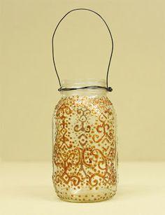 D.I.Y. Moroccan Inspired Jar Lantern