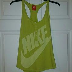 Nike workout tank Nike workout tank. Razorback. Nike Tops Tank Tops