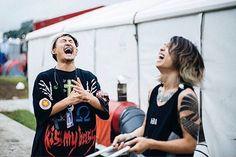 Ryota & Tomoya Repost:@splitthemoon ___________________ #ONEOKROCK #Ryota #Tomoya #10969 #ワンオク