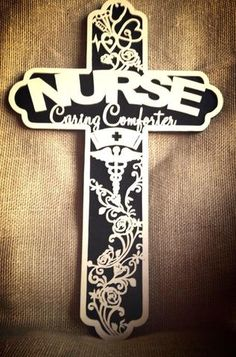 Nurse Cross Made Of Wood
