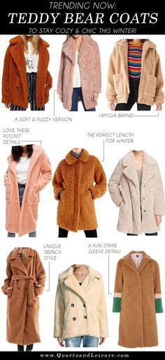 Teddy Bear Coats, Te