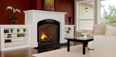 Let the Fireplace Experts at Fireside Hearth & Home help you choose your own Heatilator Heirloom Series Gas Fireplace. Gas Fireplace Mantel, Direct Vent Gas Fireplace, Vented Gas Fireplace, Fireplace Inserts, Fireplace Design, Gas Fireplaces, Fireplace Ideas, Fireplace Surrounds, Fireside Hearth And Home