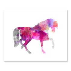 #LGLimitlessDesign  #Contest  Image of Abstract horse art print
