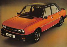 My ex auto mobile! Skoda 120 L Weird Cars, Cool Cars, My Dream Car, Dream Cars, Automobile, Car Buying Guide, Veteran Car, Vintage Cars, Vintage Logos