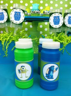 """Monsters University movie """"kick-off"""" party + FREE printables {for personal use only} via: LAURA'S little PARTY"""