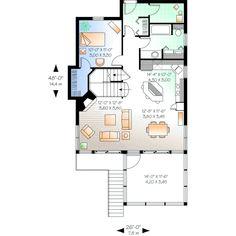 Main Floor Plan: 5-836