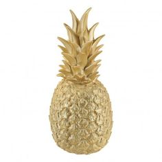 Lampe ananas Or Gold  Goodnight Light