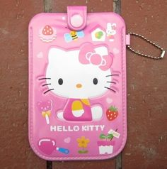 Hello Kitty Cartoon Cell Phone Pouch