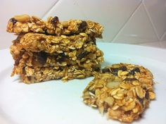 easy and healthy granola bars!