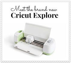 Meet The New Cricut Explore™ Machine!! -- Tatertots and Jello @Cricut® #DIY