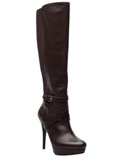 MICHAEL KORS High Heel Criss Cross Boot