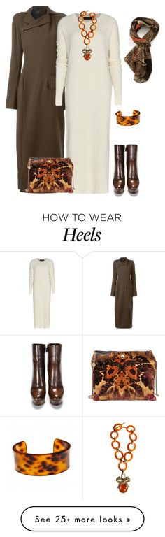 """outfit 2768"" by natalyag on Polyvore featuring moda, Haider Ackermann, STELLA McCARTNEY, Fornash y Nina Ricci"