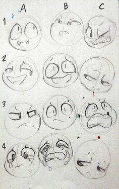 expressions drawing trendy facial poses ideas face 50 Trendy drawing poses face facial expressions 50 Ideas Trendy drawing poses face facial expressionsYou can find Drawing faces and more on our website Drawing Techniques, Drawing Tips, Drawing Sketches, Drawing Ideas, Face Sketch, Cartoon Drawings, Cute Drawings, Drawing Expressions, Anime Faces Expressions