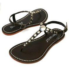 Bernardo Women's Mojo Flat Sandal top price Studded Sandals, Flat Sandals, Flats, Top, Shoes, Fashion, Loafers & Slip Ons, Moda, Shoe