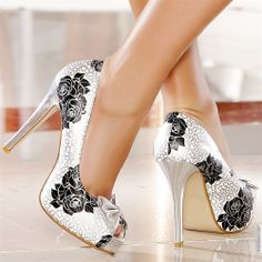 Escarpins women silver heels 12 cm size 39, online buy Escarpins woman MODATOI