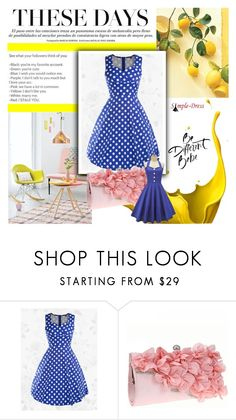 """""""Simple-dress 27."""" by adelisamujkic ❤ liked on Polyvore featuring vintage"""