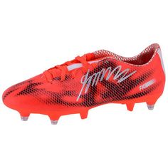 size 40 cfa5c 84519 James Rodriguez Real Madrid Autographed Orange Adidas Soccer Cleats