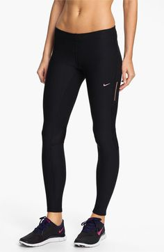 Nike 'Tech' Tights available at #Nordstrom...scored these for $14.98 at the Nike Factory store this weekend! WOOT;)