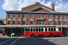 Historic Roanoke City Market. Located in Roanoke, VA.