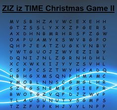Let us continue ZIZ iz TIME Christmas Game!  The rules: 1) Every week for 10 weeks you will see a word search where 1 single word will hide; you will always get a little clue 2) Find that word and write it down on a piece of paper 3) At the end of 10 weeks send your 10 found words to me and you will enter the prize draw: 10 pairs of ZIZ earrings and 3 ZIZ watches of your own choice  Here is the second word search. Find a 7-letter word describing ZIZ watches! Good luck!