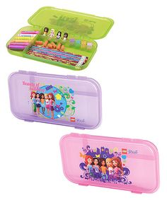 Take a look at the LEGO Friends Case Set on #zulily today!