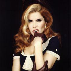 Paloma Faith | Famous Singer | UK Paloma Faith Hair, Blonde Streaks, Yours Lyrics, Glam Hair, Rockabilly Hair, Love Rocks, Lana Del, Vintage Beauty, Vintage Style
