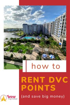 We love staying at the Deluxe resorts at Walt Disney World, but they can be quite expensive. But there are ways you can save up to half off the price. In fact, this money-saving tip is our most favorite way to save on our Disney World trips. Disney World Trip, Disney World Resorts, Renting Dvc Points, Bay Lake Tower, Coronado Springs, Resort Villa, Beach Club, Trips, Money