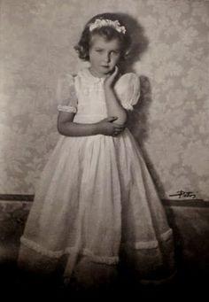Princesse Marie Gabrielle de Savoie née le 24 février 1940 fille du roi Humbert II d'Italie et de la reine Marie-Josée de Belgique