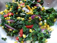 Kale Vegetable Medley | www.TheHealthyDish.com