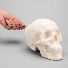 The Skull Shaped Money Bank