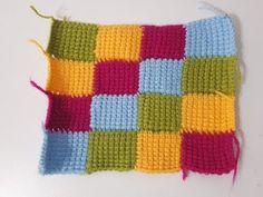 Bebek Battaniyesi FARKLI Motifi Yapılışı HOW TO KNİTTİNG - YouTube Manta Crochet, Tunisian Crochet, Easy Crochet, Crochet Designs, Crochet Patterns, Crochet Squares, Knitting For Beginners, Lace Knitting, Diy Home Decor