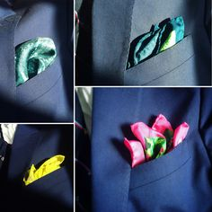 Which one to wear? Made in England Inspired by paintings of the Yorkshire Dales. Yorkshire Dales, Pocket Squares, How To Make, How To Wear, England, Paintings, Silk, Inspired, Bags