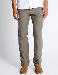 Pure Cotton Jeans Style Trousers #trousers #leggings #skinny #men #man #fashion #style #marksandspencer #erkek #pantolon #mscollection #autograph #blueharbor #limitededition #slimfit #straightfit